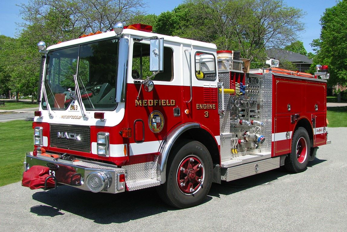 Photo of Medfield Engine 3.