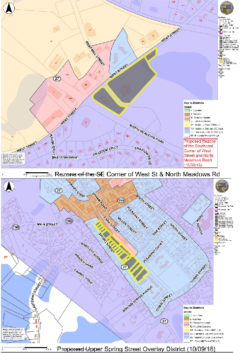 Proposed Zoning Amendments - Maps - 12-03-18